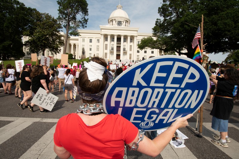 March for Reproductive Freedom in Montgomery