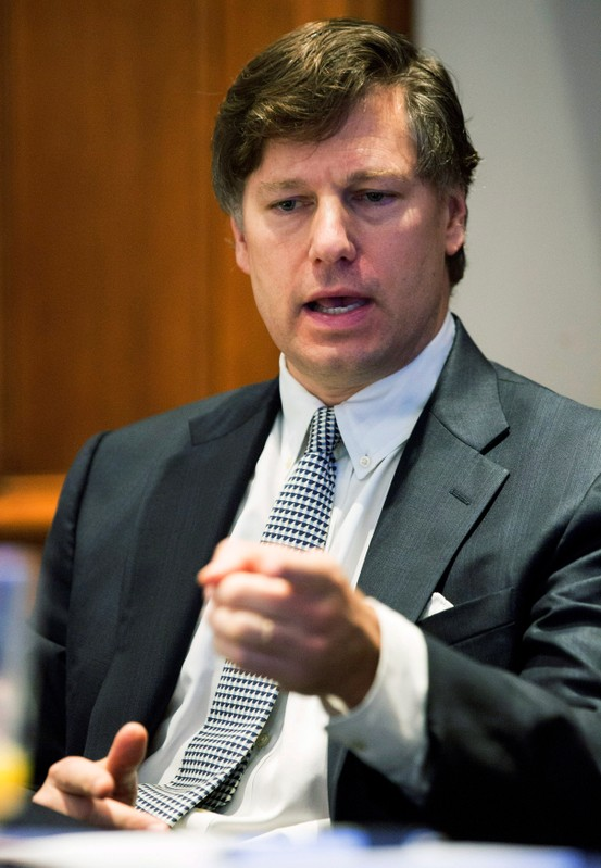 FILE PHOTO: Landau, partner at Kirkland & Ellis, speaks at the U.S. Chamber of Commerce 27th annual Supreme Court pre-term briefing in Washington