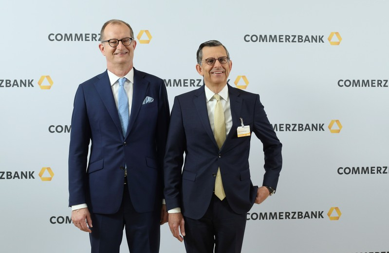 Commerzbank AG hold their annual general meeting of shareholders in Wiesbaden