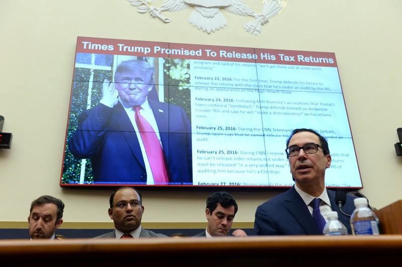 Treasury Secretary Steven Mnuchin testifies before the House Financial Services Committee hearing