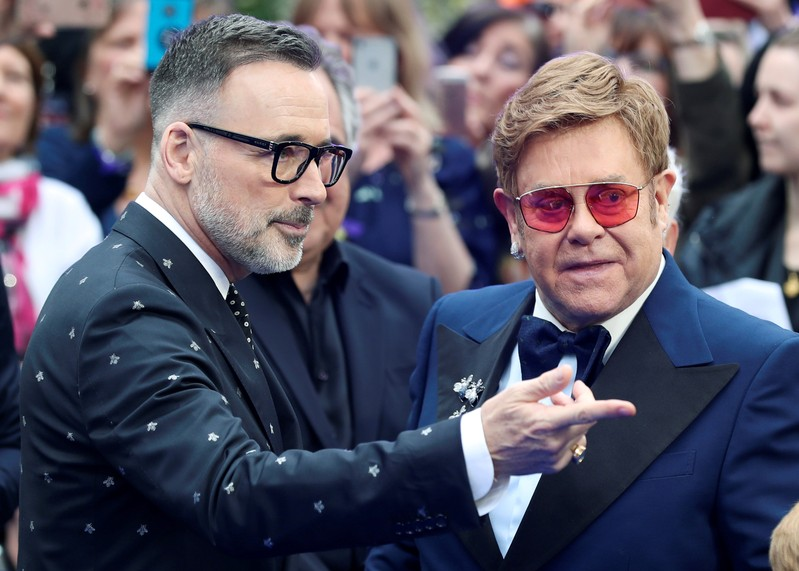 UK premiere of the Elton John biopic 'Rocketman' in London
