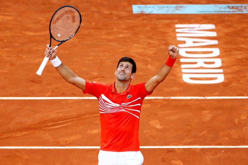 FILE PHOTO: ATP 1000 - Madrid Open