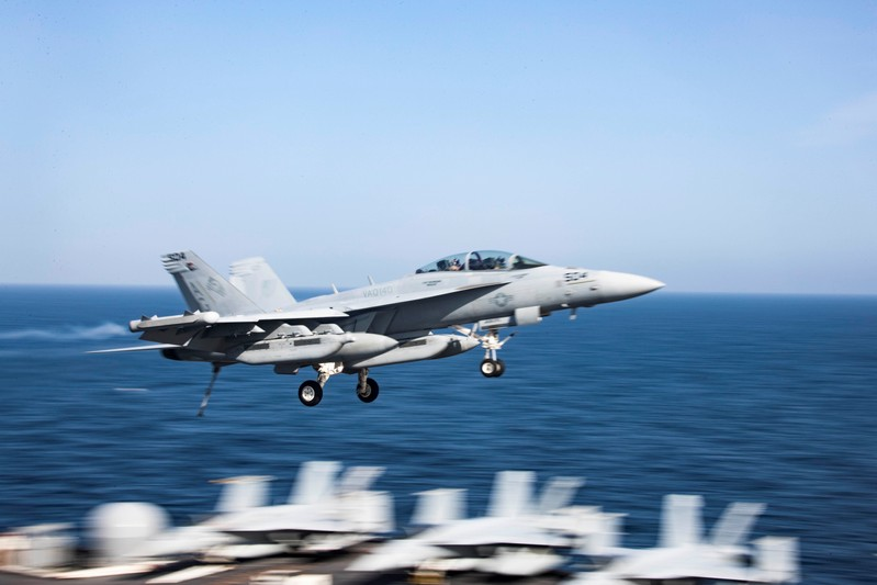 An F/A-18F Super Hornet from the