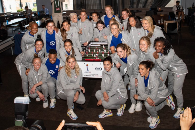 Soccer: U.S. Women's National Team World Cup Media Day