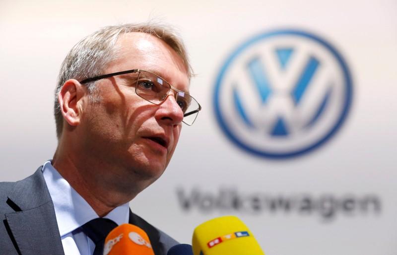 Volkswagen Group's annual general meeting in Berlin