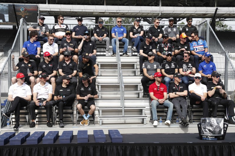 IndyCar: 103rd Running of the Indianapolis 500-Drivers Meeting