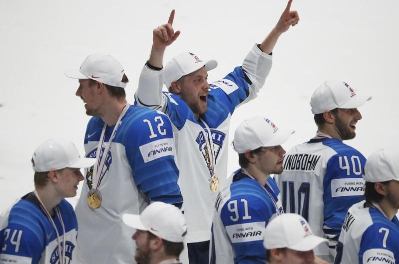 Ice Hockey World Championships - Final - Canada v Finland