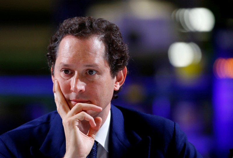 FILE PHOTO: John Elkann, chairman of Fiat Chrysler Automobiles