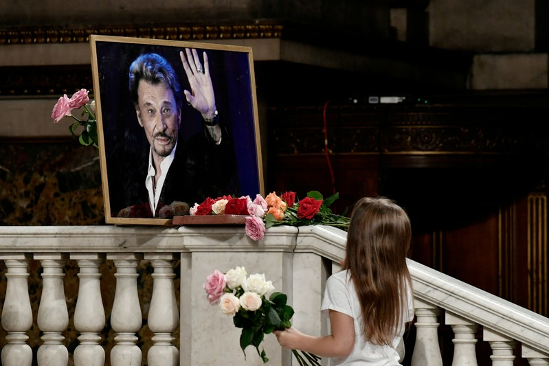 Rocker Hallyday's estate to be shared under French, not U S , law