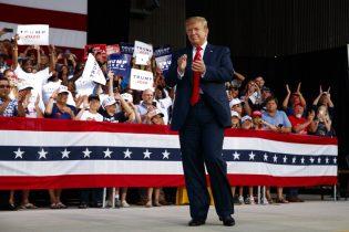 President Trump hosts MAGA rally in Fla.