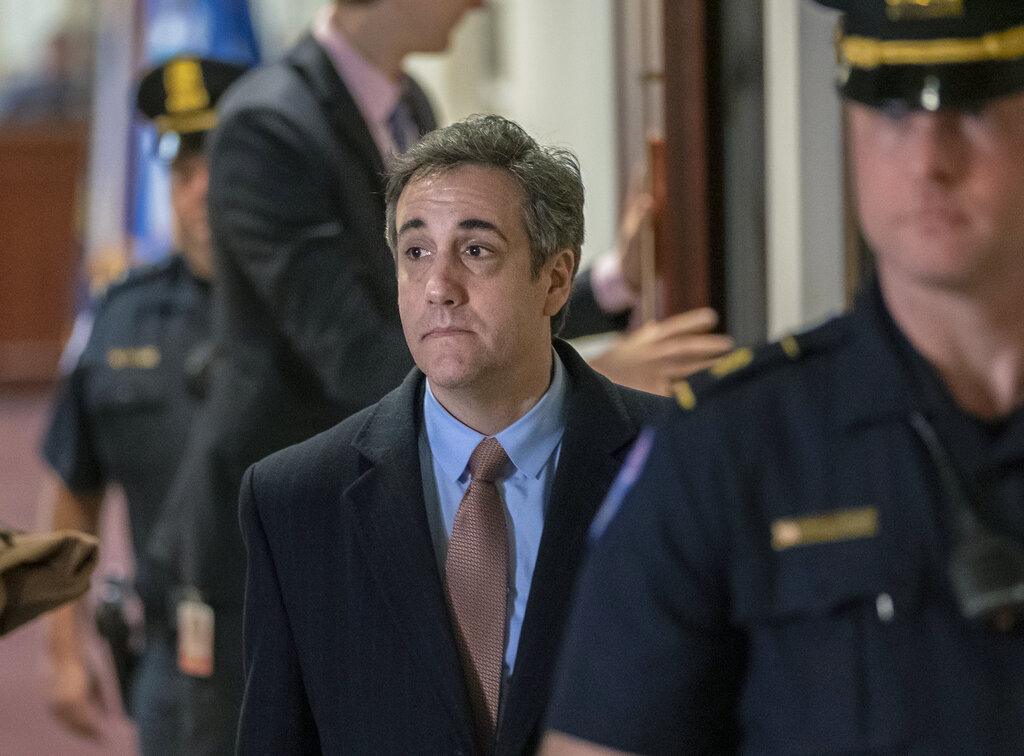 Search warrants tied to former Trump lawyer Michael Cohen released