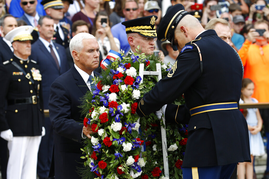 Vice President Pence honors fallen service members