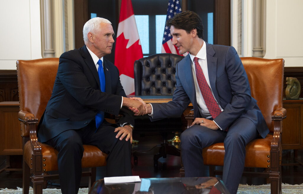 Trudeau officially presents legislation ratifying USMCA trade pact
