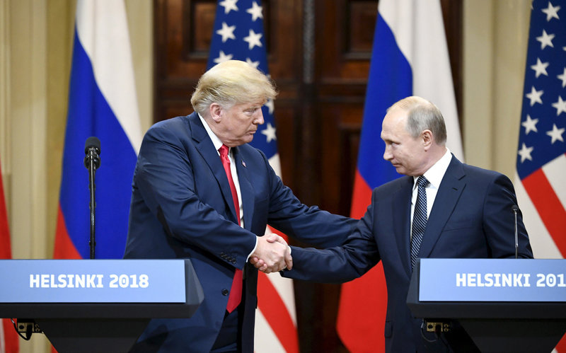 Trump says had 'very productive' talk with Putin