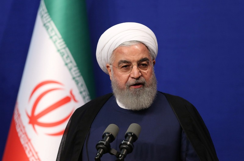 Iran's Rouhani: We're open to talks if U.S.  shows respect