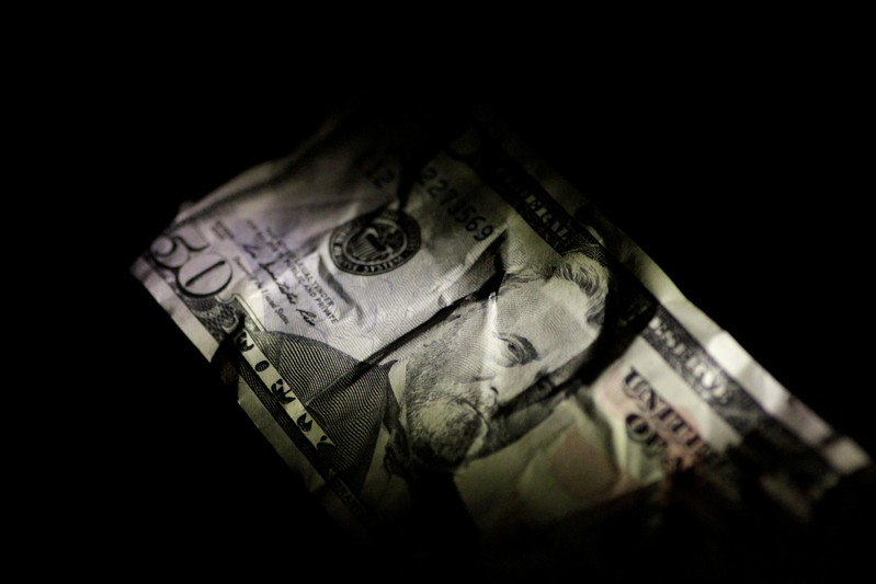Illustration photo of a U.S. Dollar note