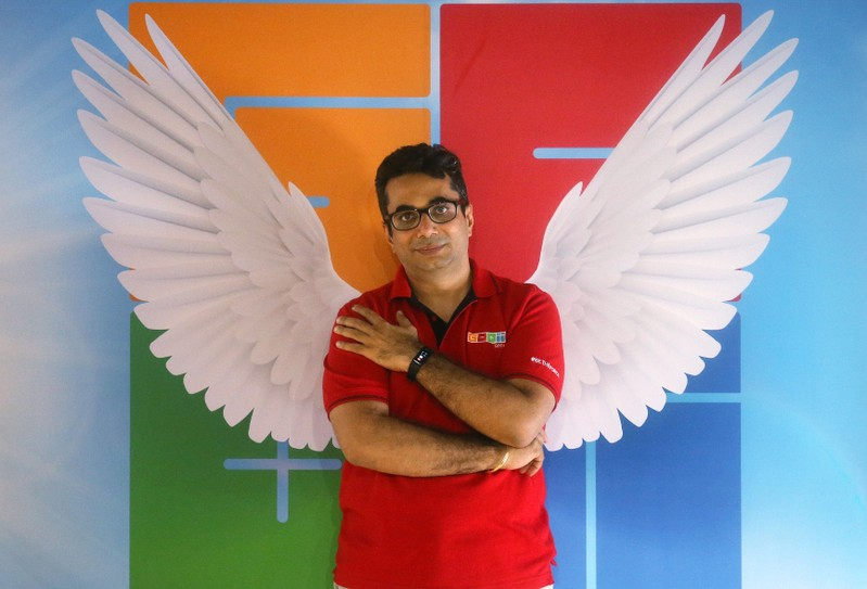 Vishal Gondal, CEO and founder of GOQii poses for a picture inside his office premises in Mumbai