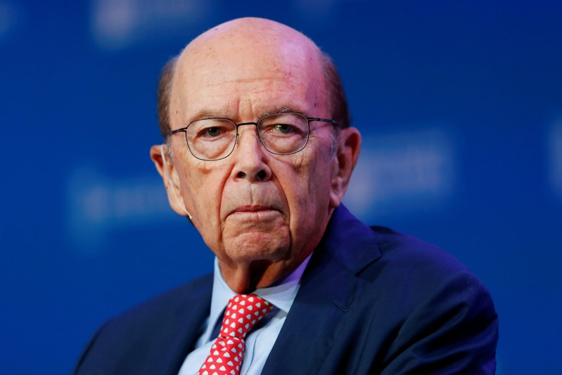 FILE PHOTO: U.S. Commerce Secretary Wilbur Ross speaks during the Milken Institute's 22nd annual Global Conference in Beverly Hills, California