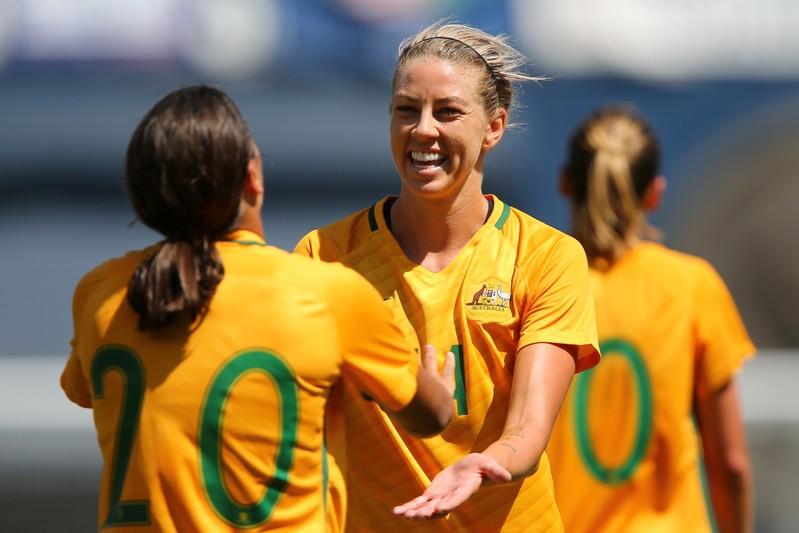 Soccer Football - Japan v Australia - Tournament of Nations Soccer 2017