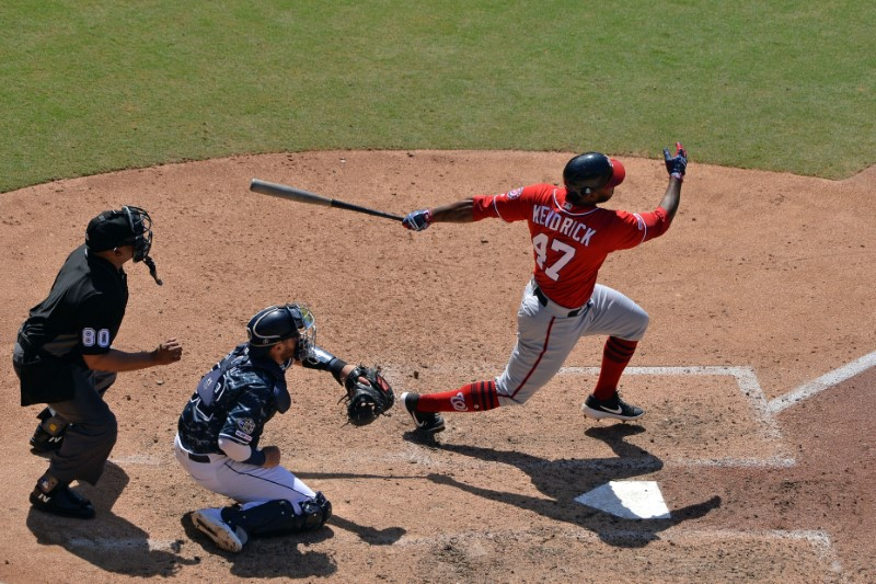 MLB: Washington Nationals at San Diego Padres