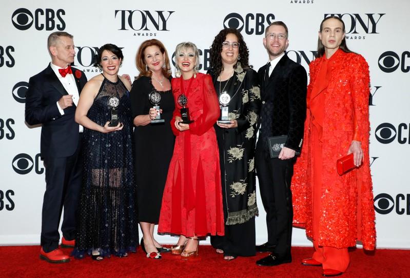 FILE PHOTO: 73rd Annual Tony Awards - Photo Room - New York, U.S.