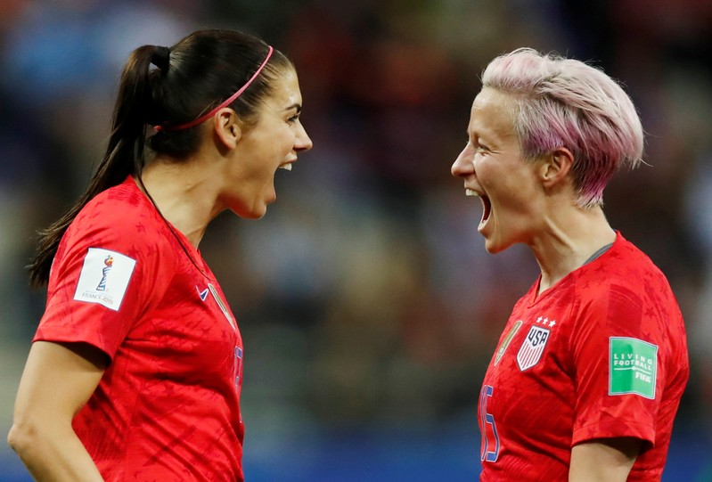 Women's World Cup - Group F - United States v Thailand