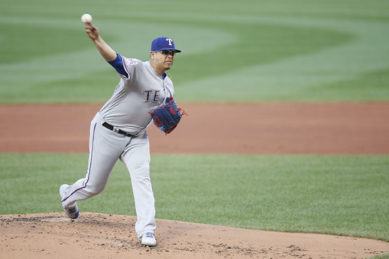 MLB: Texas Rangers at Boston Red Sox