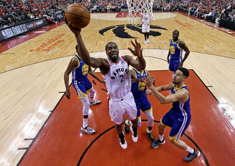 FILE PHOTO: NBA: Finals-Golden State Warriors at Toronto Raptors