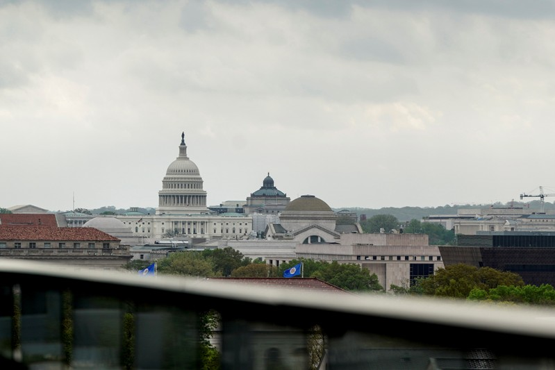 General view of the U.S. Capitol in Washington