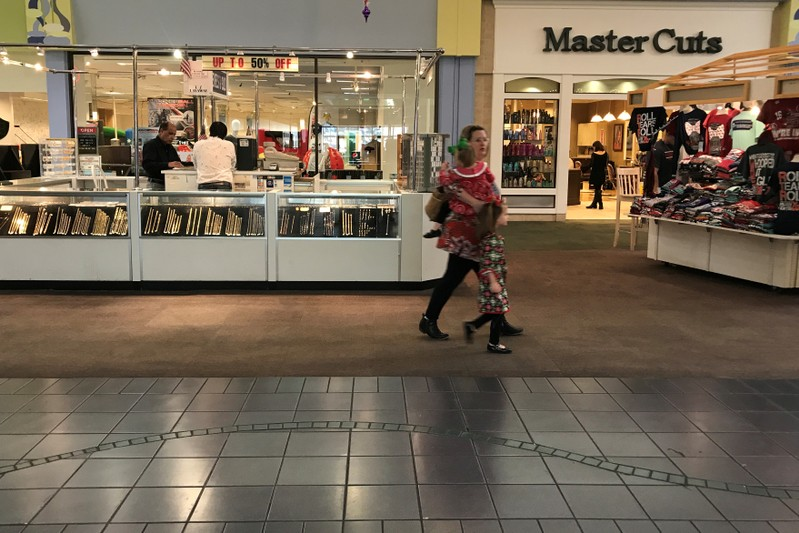 FILE PHOTO: The inside of the Gadsden Mall is pictured in Gadsden, Alabama