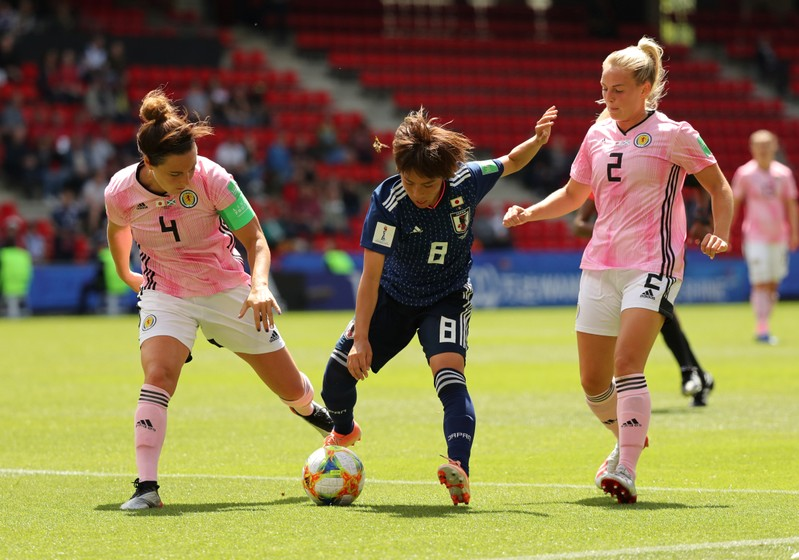Women's World Cup - Group D - Japan v Scotland