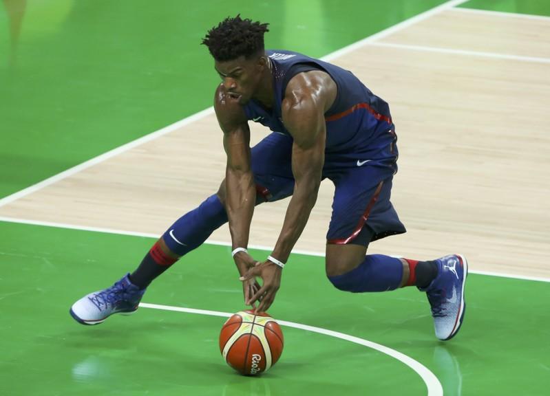 Basketball - Men's Preliminary Round Group A China v USA