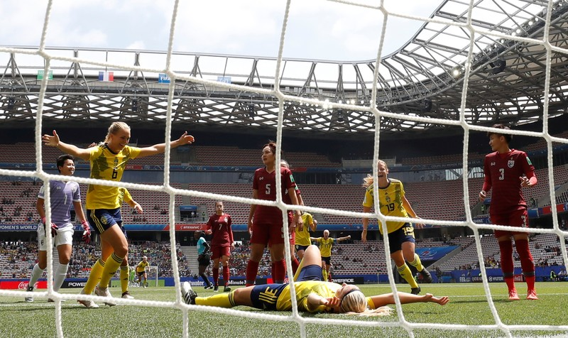 Women's World Cup - Group F - Sweden v Thailand