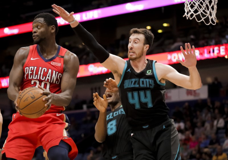 NBA: Charlotte Hornets at New Orleans Pelicans
