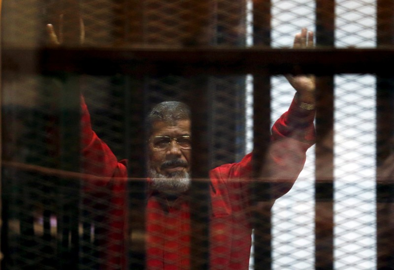 Ousted Egyptian leader buried in Cairo