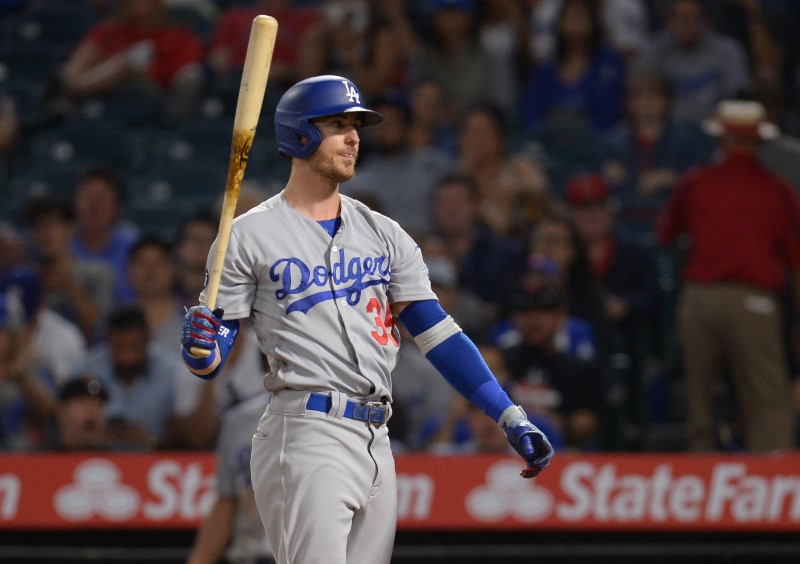 MLB: Los Angeles Dodgers at Los Angeles Angels