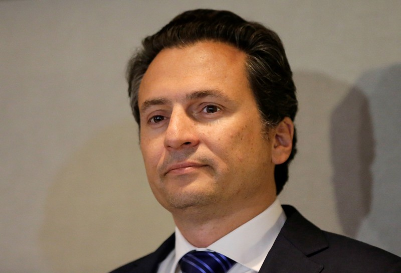 FILE PHOTO: Emilio Lozoya, former CEO of Petroleos Mexicanos (Pemex)