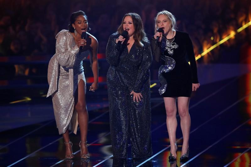 2019 MTV Movie and TV Awards - Tiffany Haddish, Melissa McCarthy and Elisabeth Moss present - Santa Monica, California