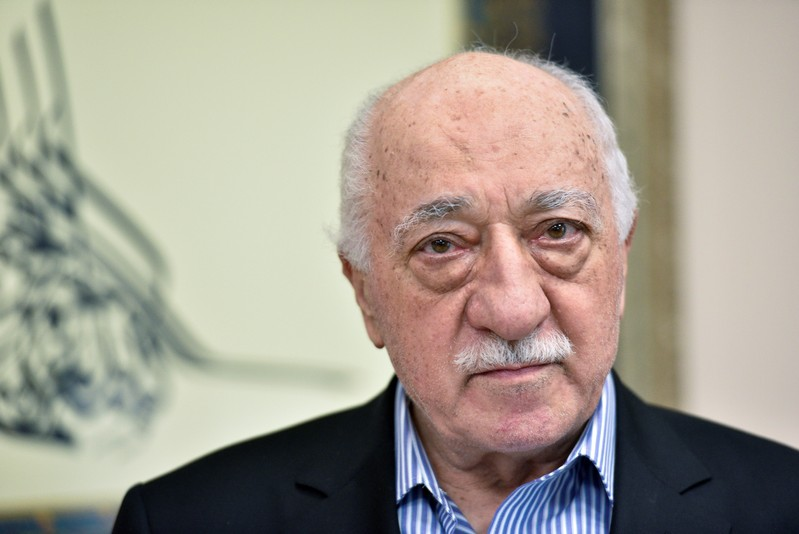 FILE PHOTO: U.S. based cleric Fethullah Gulen at his home in Saylorsburg, Pennsylvania