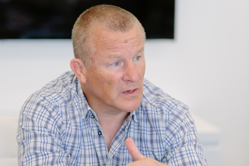 FILE PHOTO: Neil Woodford is seen in this undated handout picture