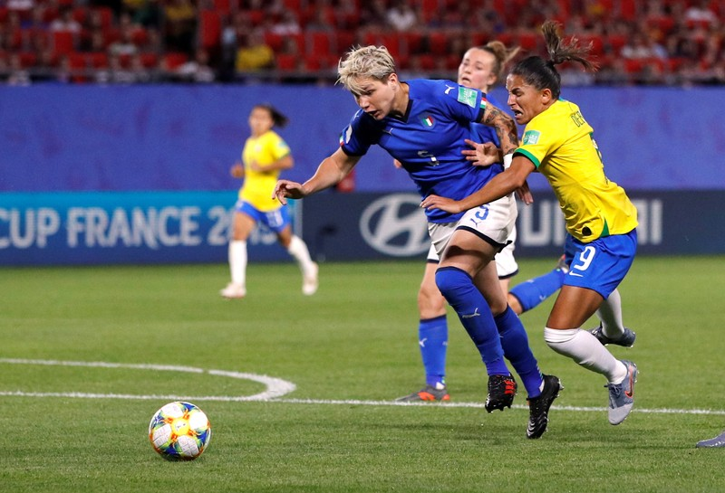 Women's World Cup - Group C - Italy v Brazil