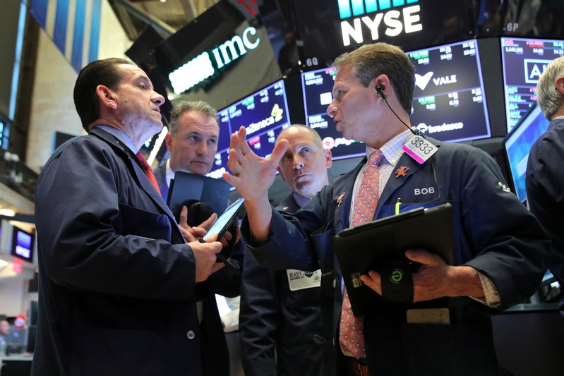 Wall Street puts damper on milestone-setting week
