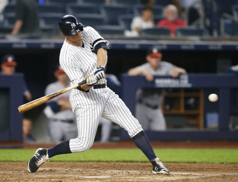 Yankees' Gary Sanchez, Gleyber Torres crush home runs vs. Astros
