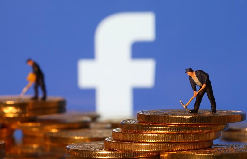 FILE PHOTO: Facebook logo in illustration picture
