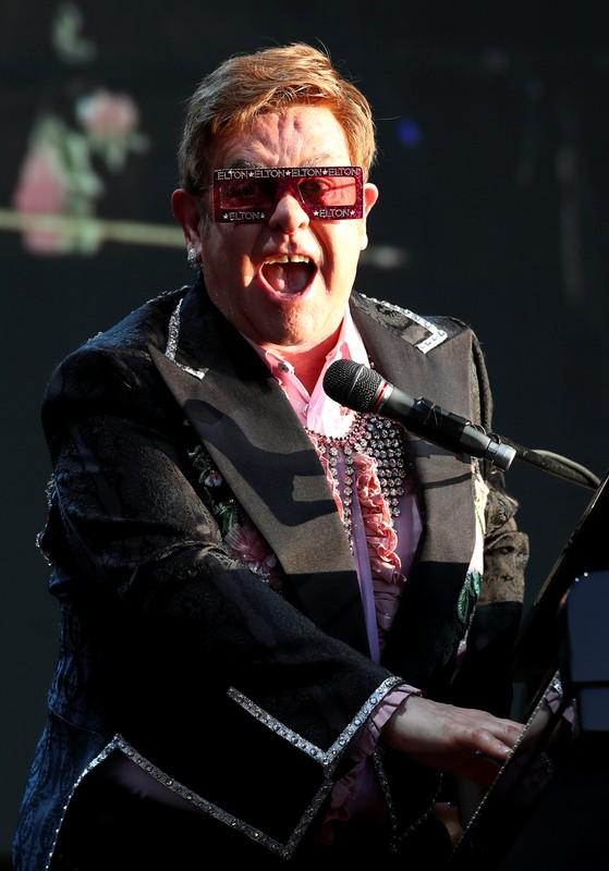 Elton John performs at Montreux Jazz Festival