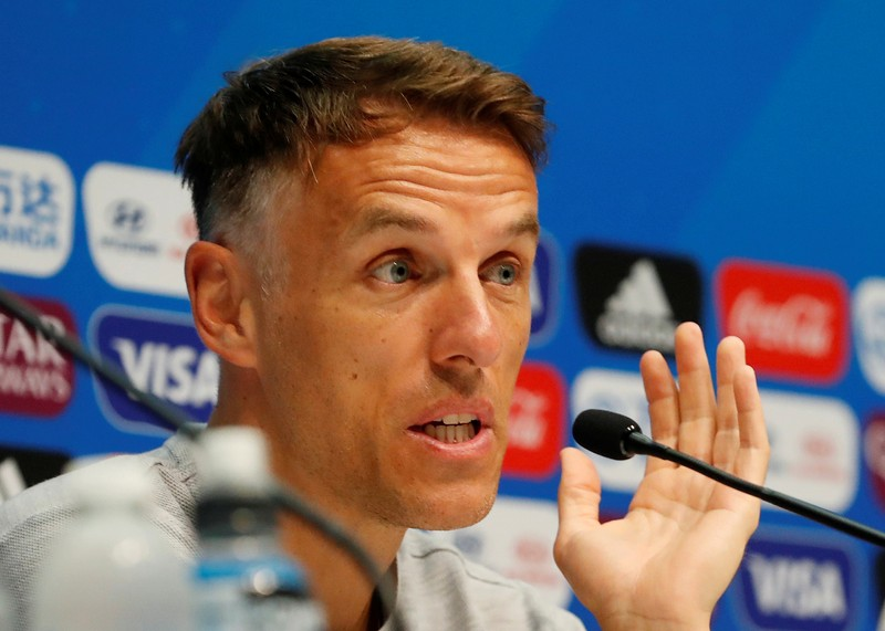 Lucy Bronze plays down Phil Neville's 'best in the world' claims