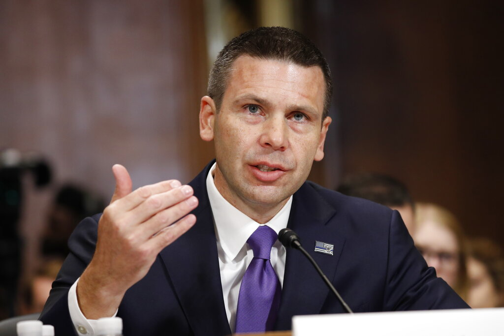 McAleenan talks securing the US-Mexico border before the Senate
