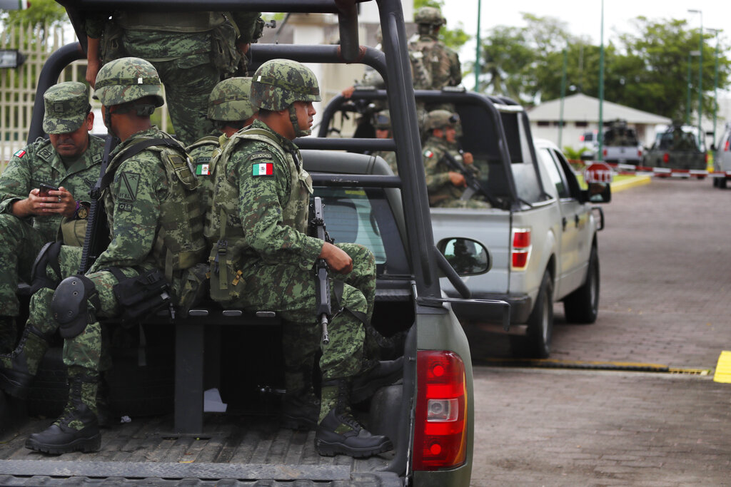 Mexico says National Guard deployment to southern border starts on Wednesday
