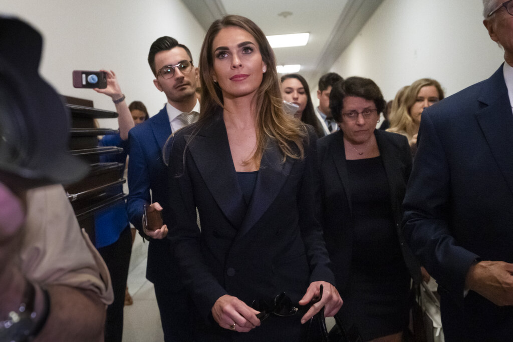 TRANSCRIPT: Hope Hicks Defended Use of Dems' Hacked Emails