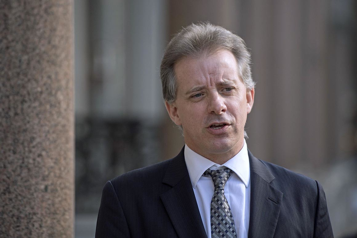 Christopher Steele: MI6 agent to face questions on Trump Russia dossier